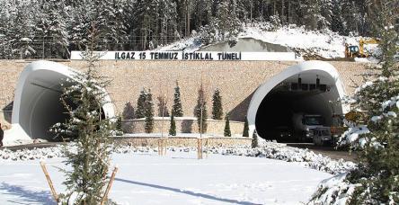 testIlgan Tüneli açılıyor...