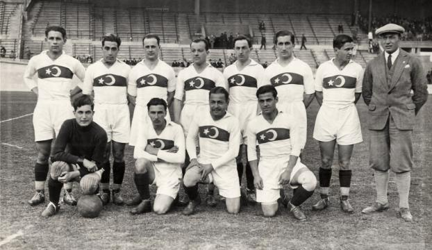 Milli takımın ilk forması yeniden üretildi