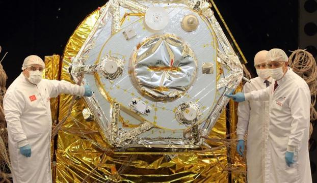Milli uydu İmecenin son montajı yapıldı, testleri başlıyor