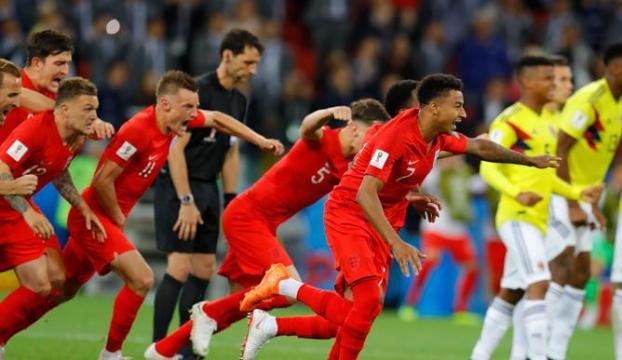 İngiltere penaltılarda ilk kez güldü