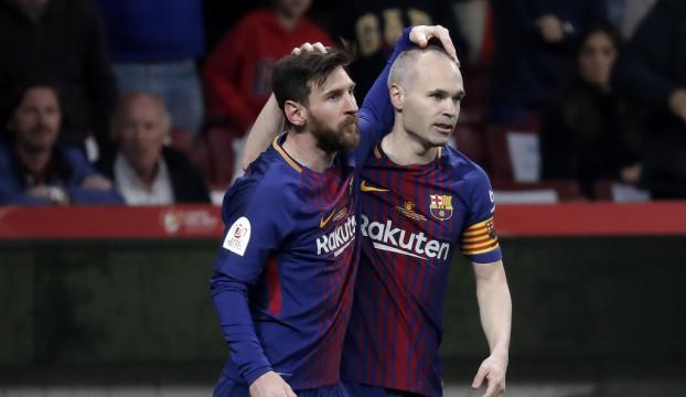 Iniestadan Barcelonaya duygusal veda