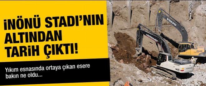 İnönü Stadı'nda şok gelişme!