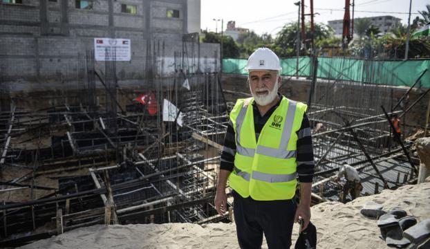 """Gazzede """"Onbaşı Hasan"""" Cami inşası"""