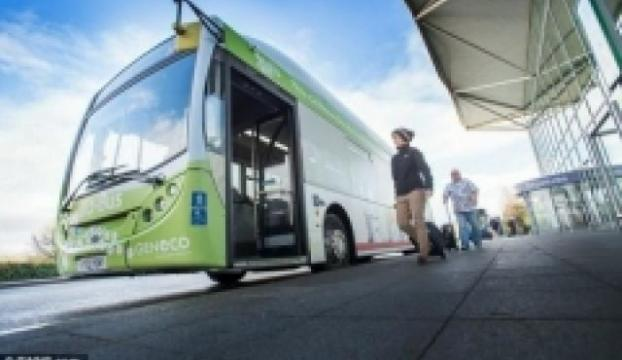 Bu otobüs gücünü bizden alıyor