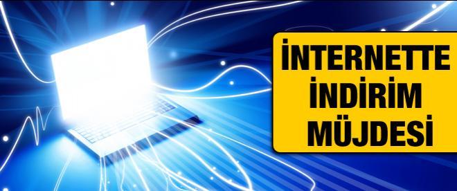 İnternette indirim müjdesi