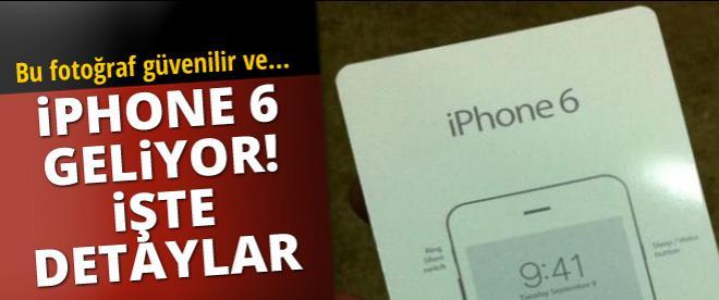 İPhone 6 geliyor. İşte detaylar