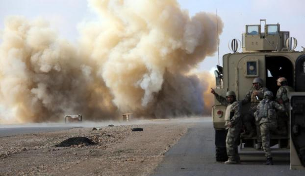IŞİDe karşı yoğun saldırı başlatıldı