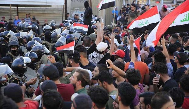 Iraktaki gösterilerde 14 kişi öldü