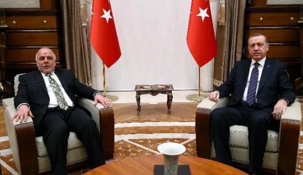 Irak Başbakanını kabul etti