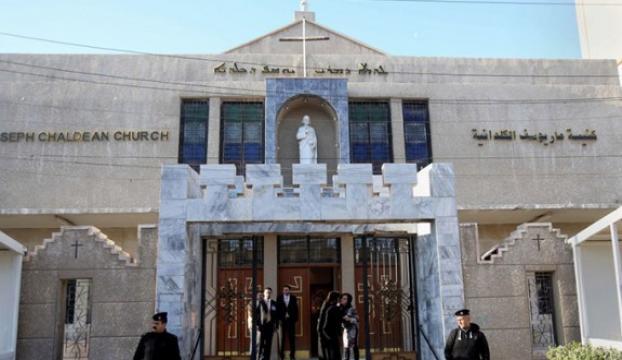 Irak Keldani Kilisesinde yas