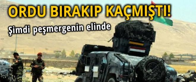 Irak ordusunun araçları Erbil'e getiriliyor