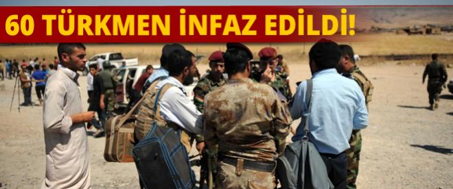 Irak polisi, 60 Türkmen'i infaz etti