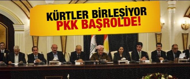 Kürtler birleşiyor PKK başrol alıyor!