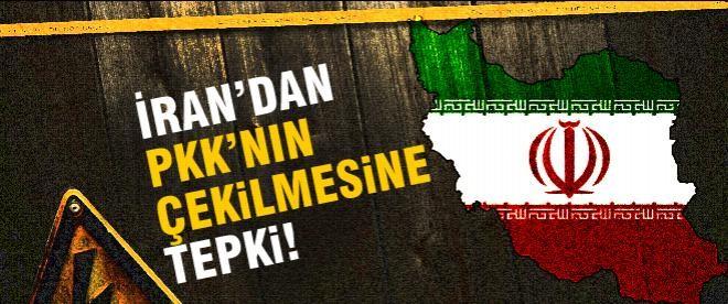 İran'dan PKK'nın çekilmesine tepki!