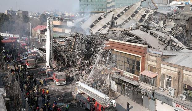 Türk Büyükelçiliği yakınında 17 katlı bina çöktü