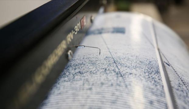 Bingölde 4 büyüklüğünde deprem meydana geldi