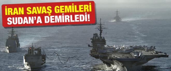 İran gemileri Sudan'da demirledi