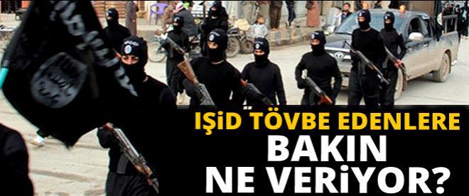 IŞİD tövbe edenlere bakın ne yapıyor?