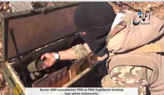 IŞİD ABDnin attığı silahları ele geçirdi mi?