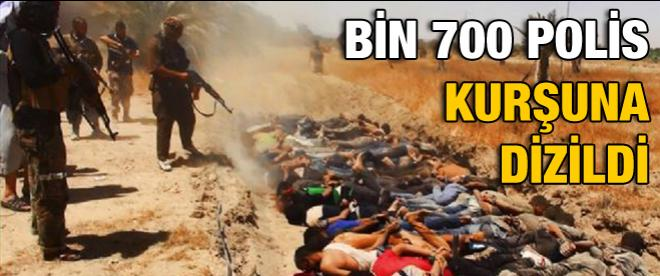 IŞİD, bin 700 emniyet personelini infaz etti