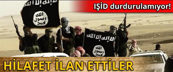 IŞİD, Hilafet ilan etti