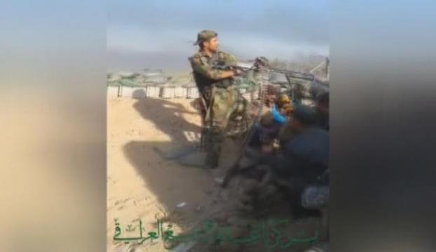 IŞİD Iraklı teğmeni böyle vurdu