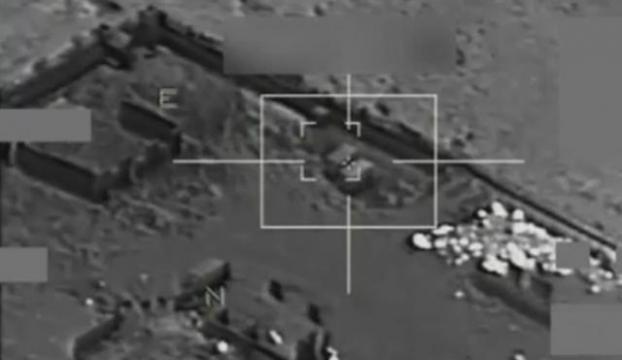 IŞİD mevzilerine bombardıman!