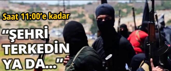 IŞİD'den Hristiyanlara tehdit