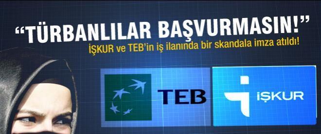 """İŞKUR: """"Türbanlılar gelmesin!"""""""