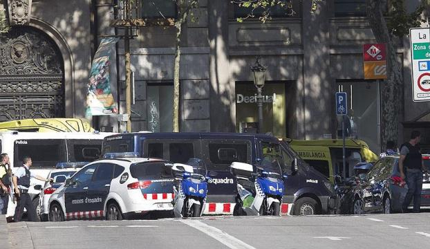 İspanyada terör saldırısı: 13 ölü, 100 yaralı