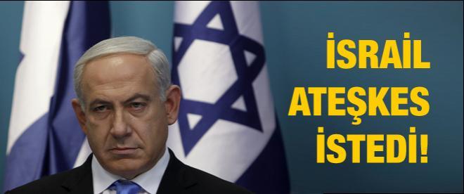 İsrail'den flaş ateşkes çağrısı!