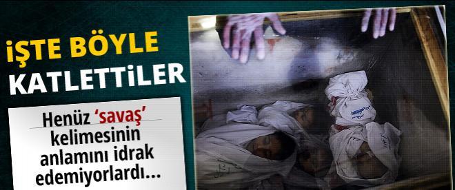İsrail ordusu 400 çocuğu katletti