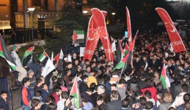 İsrail Başkonsolosluğu önünde eylem