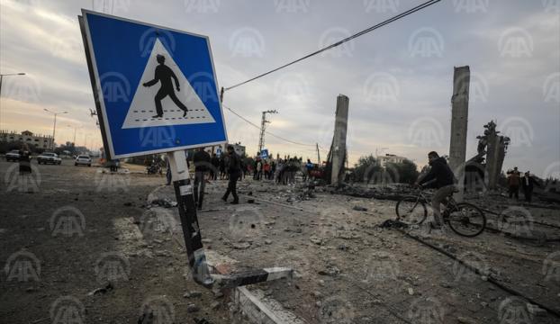 İsrailden Gazzeye saldırı: 7 şehit