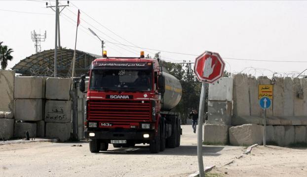 İsrail Gazzeye akaryakıt girişini durdurdu