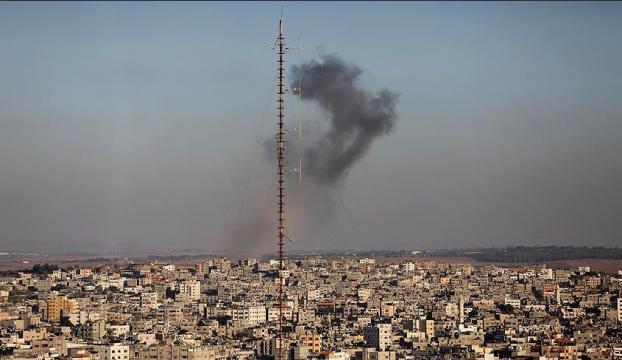 İsrailden Gazzeye hava saldırısı