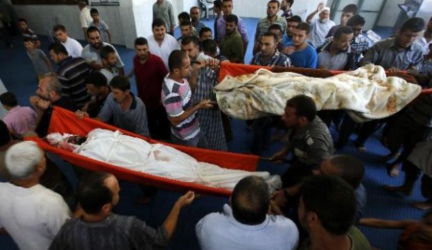 İsrailin öldürdüğü Filistinli gence cenaze töreni düzenlendi