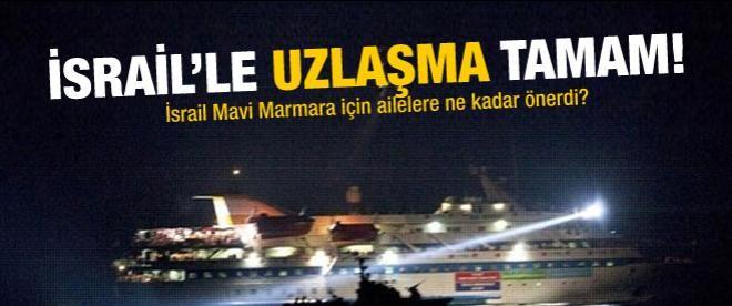 Mavi Marmara'da, İsrail ile uzlaşmaya varıldı