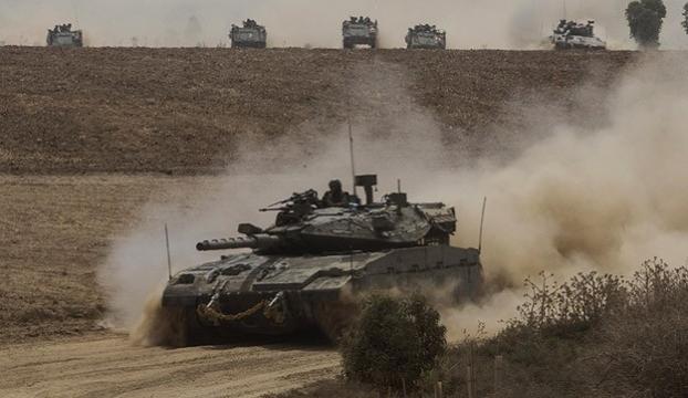 """İsrail ordusuna ait """"F15"""" savaş uçağı vuruldu"""