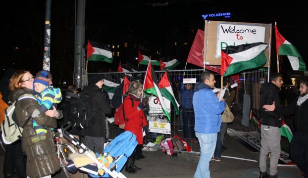 "Avusturyada ""İsrail"" protestosu"