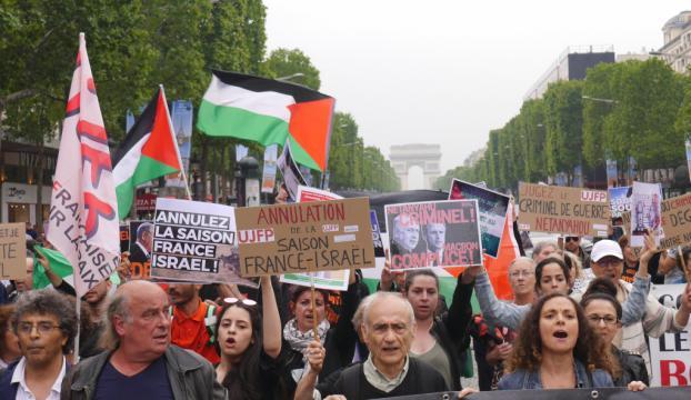 İsrail Başbakanı Netanyahu Pariste protesto edildi