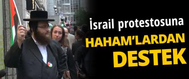 İsrail protestosuna Yahudiler'den destek