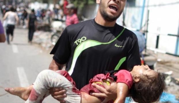 İsrail savaş suçu işliyor