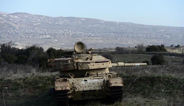 İsrailin Suriyeye saldırdığı iddia edildi