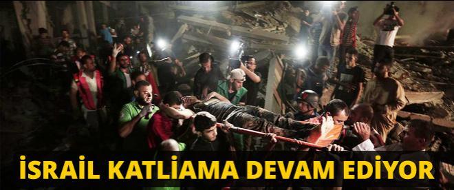 İsrail, Gazze'de 25 hedefi vurdu