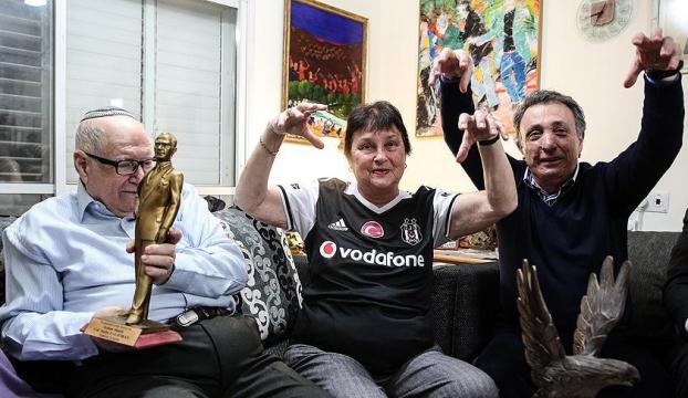 Beşiktaşa gönül vermiş bir İsrailli