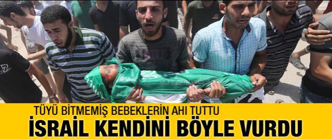 İsrail Gazze'ye attı kendini vurdu!