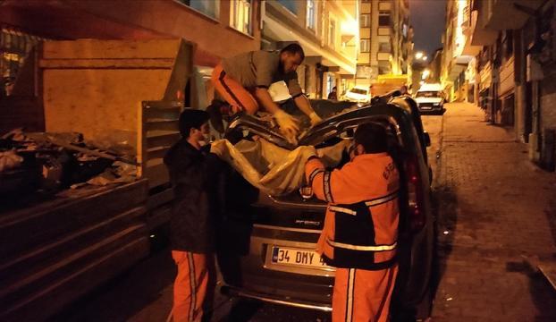 AFAD: İstanbuldaki fırtınada 3 kişi yaralandı