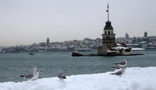 İstanbulun yüksekleri için kar uyarısı