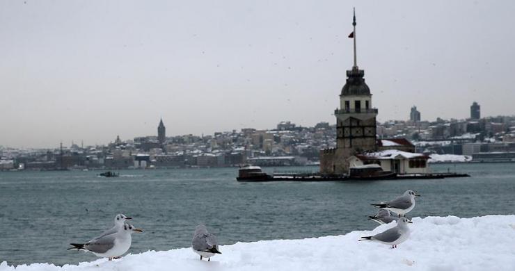 İstanbul'un yüksekleri için kar uyarısı